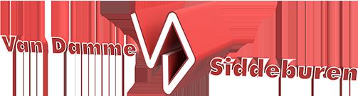 Van Damme Siddeburen logo webiste